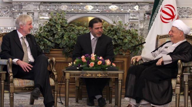 377342_Iran-Finland-Rafsanjani