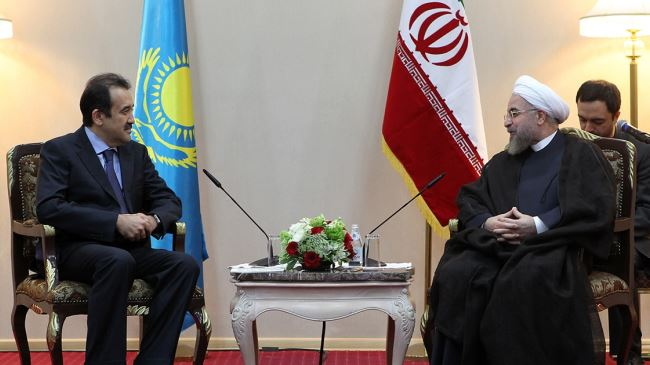 378276_Iran-Kazakhstan-Rouhani