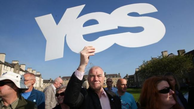 Photo of Majority of Scots favor independence: Poll