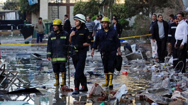 Photo of 4 killed in explosion near Egyptian Foreign Ministry