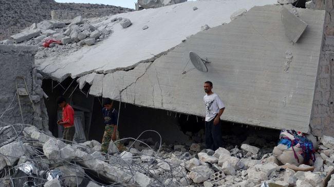 Photo of Great Satan US air raids on Syria kill 5 civilians