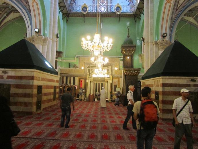 Ibrahimi Mosque - inside
