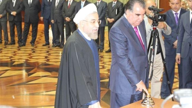 Iran inaugurates hydropower plant in Tajikistan