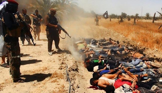 Photo of Iraq cadets massacred by Baathist, ISIL elements