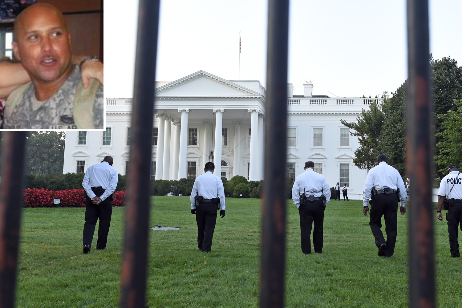 Iraq war veteran stormed White House with knife