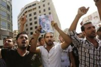 Lebanese protest at soldier beheading
