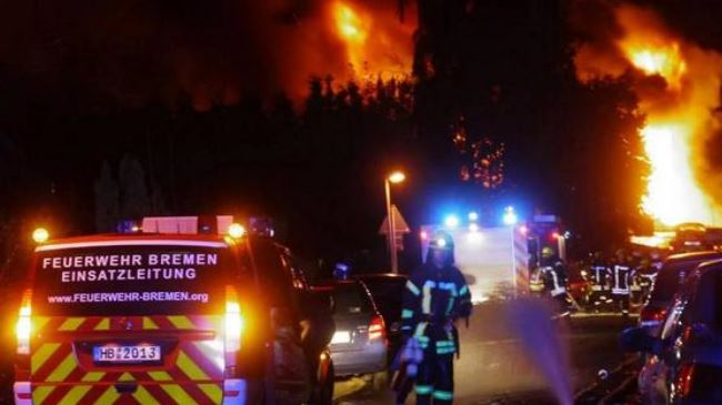Major blast hits German chemical plant