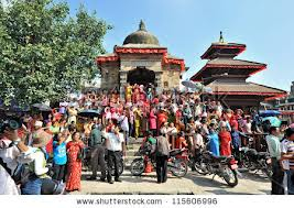 Nepalese celebrate Indra Jatra festival