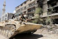 Syria army attacks to recapture key area