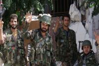Syria army continues mop-up operations in Damascus district