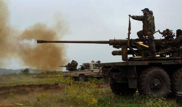 Syrian Army in Quneitra