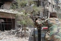 Syrian soldiers continue mop-up operations in Daraa, Damascus