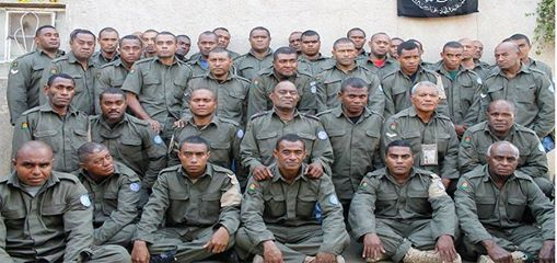 The 43 UN peacekeepers that are being held hostage by the Syrian opposition militants.