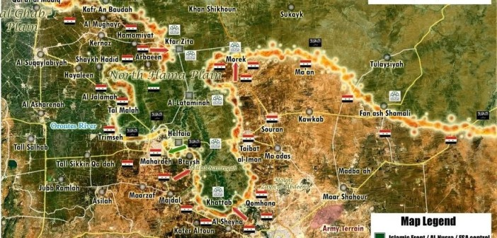 Updated Battle Map and Analysis of Hama
