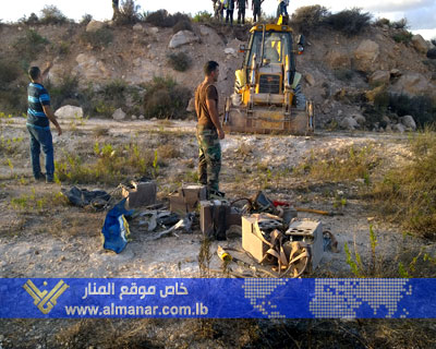 Zionists Remotely Detonate Tapping Device in Adloun, Southern Leb