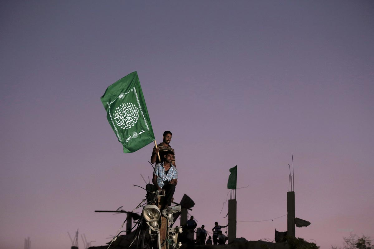 Ezzeddin al-Qassam Brigades' press statement in Shujaya neighbor
