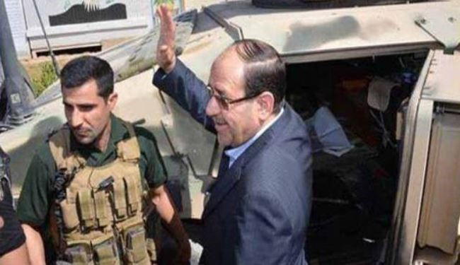 Maliki visits liberated Amerli, vows Iraq will be 'graveyard' for ISIL terrorists