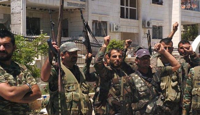 Army kills large number of militants across Syria