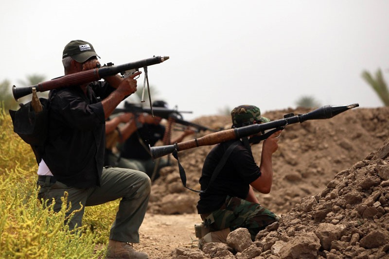 Iraqi Army Pushes Back ISIL from Bouhassan