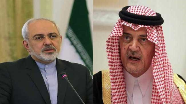 Zarif and Saud al-Faisal hold talks in New York