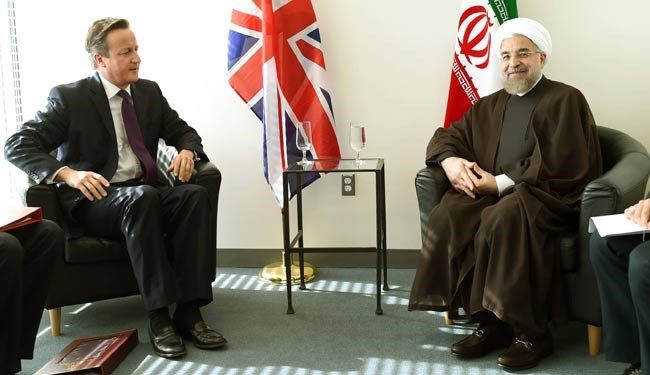 UK: Iran can help defeat ISIL in Syria