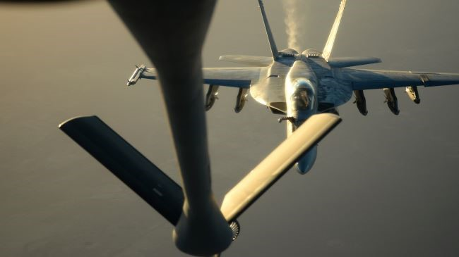 US-led airstrikes targeting Syria civilians