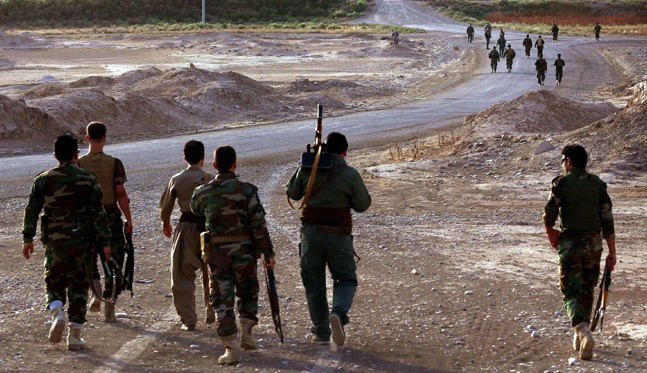 Kurd Troops Attack ISIL on 3 Fronts