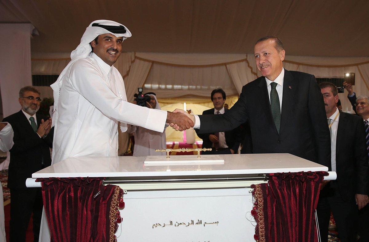 erdogan-meets-qatari-president
