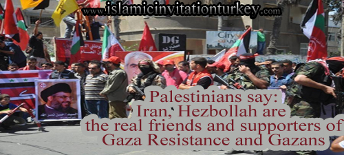 Photo of VIDEOS- Palestinians say: Iran, Hezbollah are the real friends and supporters of Gaza Resistance and Gazans