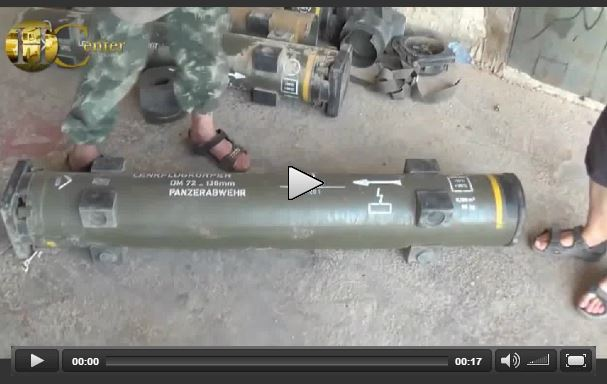 Photo of VIDEO- German Missiles in the hands of the ISIL terrorists in Syria