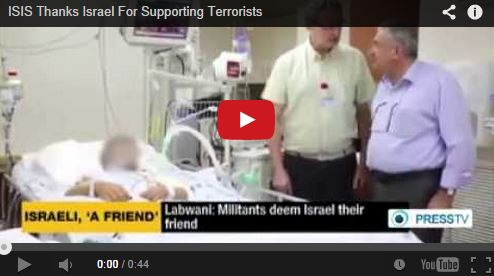 Photo of VIDEO- ISIS Thanks Israel For Supporting Terrorists