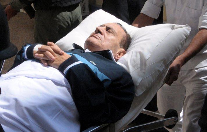 Hosni Mubarak in bad health condition