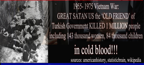 Photo of US the 'old friend' of Turkish Government KILLED 1 MILLION people including 143k women, 84k children in Vietnam