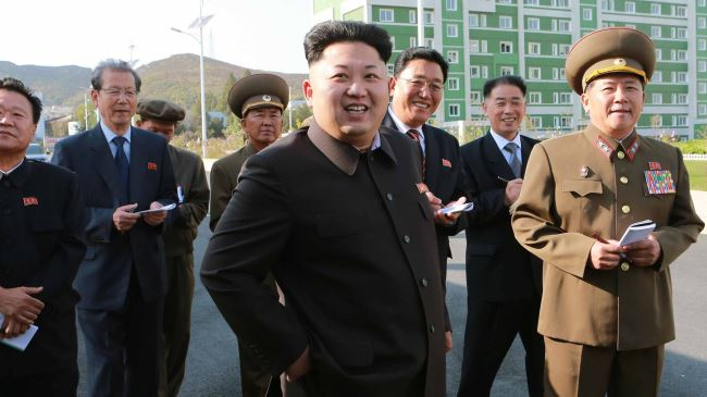 Photo of North Korea leader reappears in public with cane