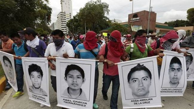 Photo of Mexicans stage rally over missing students