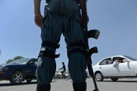 Photo of Uniformed Taliban militants storm Afghan city's police HQ