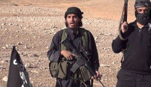 Photo of ISIL Terrorist Blows Himself up during Infighting with Colleagues