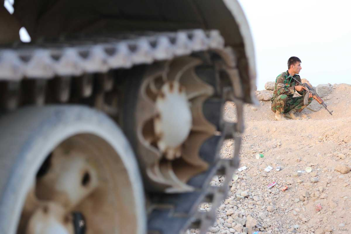 Photo of Checkpoints forced ISIS to withdraw from the centre of Kobane