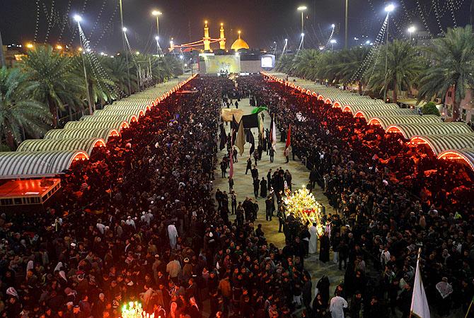 Mideast Iraq Ashoura