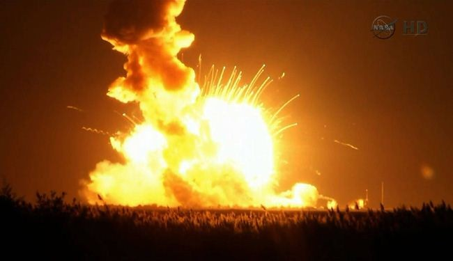 Photo of US Commercial Rocket Explodes at Liftoff