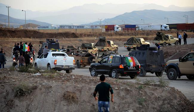 Photo of Iraqi peshmerga Arrived in Turkey, Head to Kobane