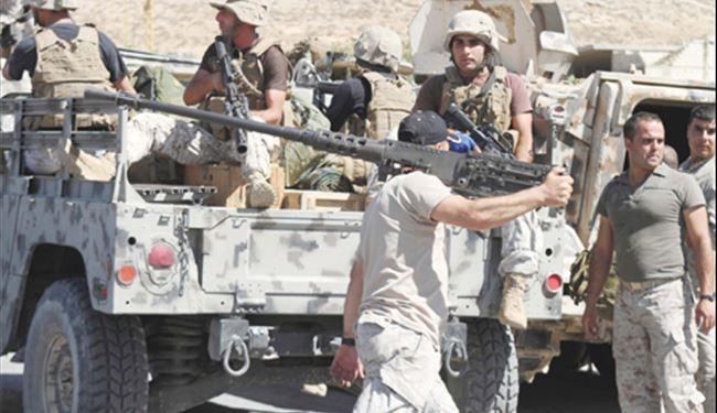 Lebanese troops, militants clash near Syria