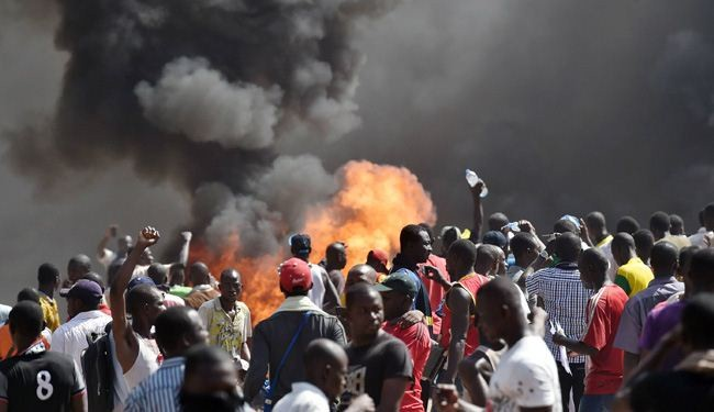 Burkina's Protesters Set Parliament Ablaze, Toppled President