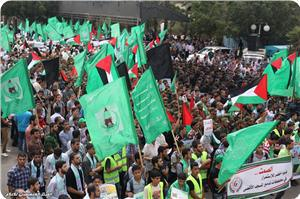 Photo of Large march in Gaza in support of Aqsa Mosque