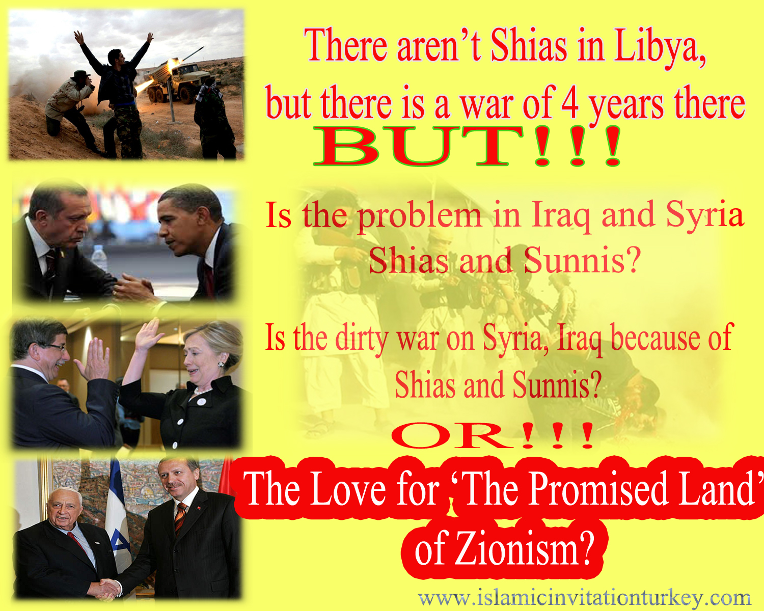 Photo of There aren't shias in Libya but there is a war of 4 years. What about Syria and Iraq?