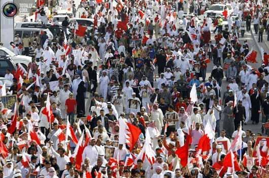 تظاهرات در بحرین - عکس داخل