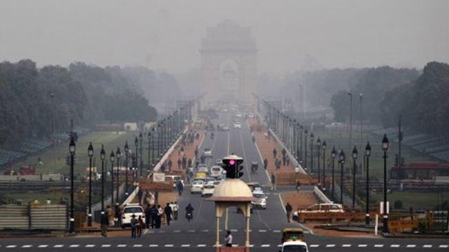 Photo of New Delhi air pollution reaches alarming levels
