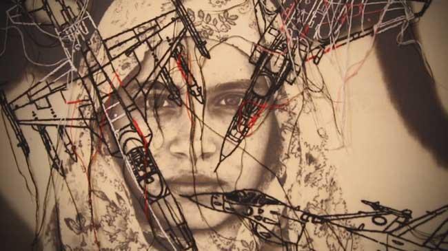 Photo of Gaza Art Exhibition in Tehran