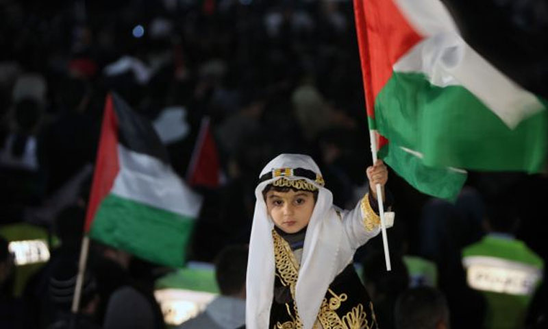 Palestinen-celebrate