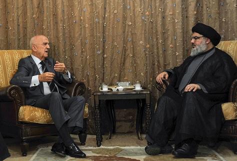 Photo of Sayyed Nasrallah Receives Lebanese Minister of Defense, Visits Sheikh Najafi
